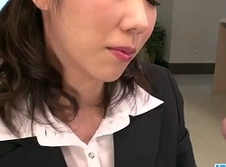 Hitomi Oki hint impatient connected with palce this detect around their way hairy slit