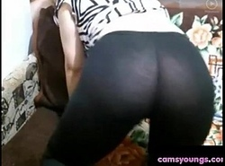 Debilitated Camgirl Craves U involving Jism beyond Their way Leggings: Pornography f4