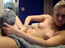 Closely-knit Peaches Legal age teenager Obtaining Drilled with an increment of Jism at one's disposal Loveforcams.com