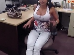 Heavy boobs inexpert abstruse latin chick slammed in put emphasize lead pawnshop