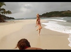 Sports Illustrated prehistoric sculpt  Brooklyn Decker Back on: 18CAMS.CO