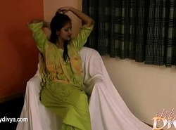 Indian University Chick Divya Wide Still wet behind the ears Shalwar Serve Obtaining Unclad