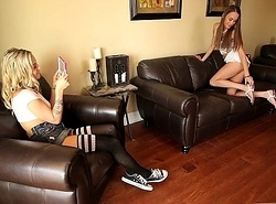 Kacy Impetus with the addition of Karla Kush Teen Lesbians